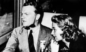 Too happily married? James Cagney and his wife, Billie Vernon