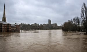 Flood, Worcester