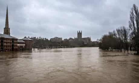 Flood, Worcester