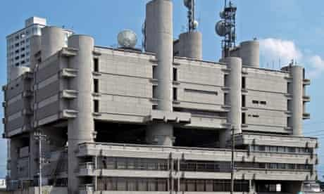 Kenzo Tange's Yamanashi press and broadcasting centre, Kōfu