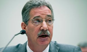 Deputy attorney general James Cole testifies on Capitol Hill.