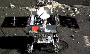 Jade Rabbit moon rover