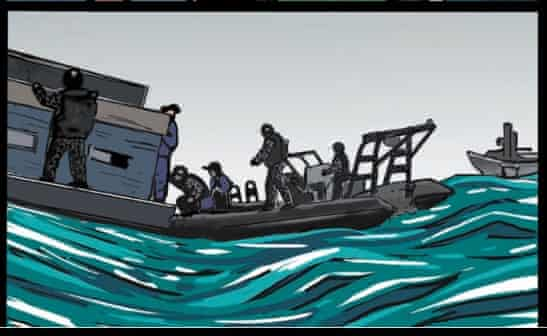 Operation sovereign borders graphic campaign