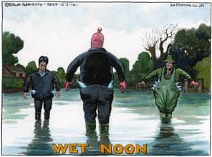 Steve Bell on the flood of politicians