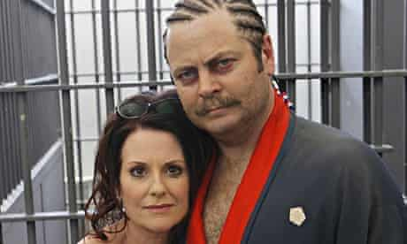 Ron Swanson and his ex-wife Tammy