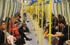 Top 10 trains: Hong Kong Mass Transit Rail