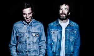 Acid Arab's Guido Minisky and Hervé Carvalho