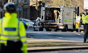 Bomb disposal in Oxford