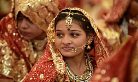 An Indian Muslim bride