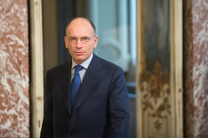 "Italian Enrico Letta of the Democratic Party announced today, that he will step down as Prime Minister on Friday, following ""the decision taken today by the national leadership of the Democratic Party""."