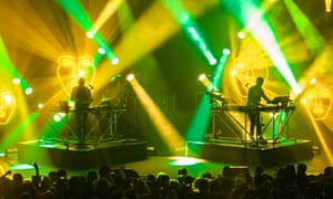 Disclosure on stage in New York.
