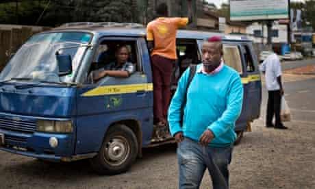 Binyavanga Wainaina nairobi street