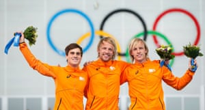 Alongside Mulder on the podium were his team-mates, second placed Jan Smeekens and third placed Ronald Mulder (his brother) , making it a 1-2-3 for the Netherlands.