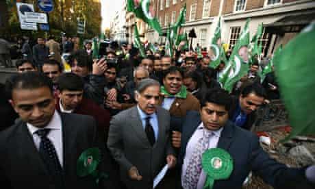 Shahbaz Sharif, London, 07/11/07