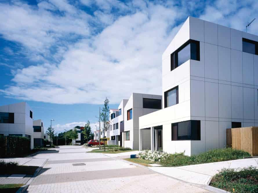 Legoland … The award-winning Oxley Woods scheme in Milton Keynes is loved by its residents, but Rogers' designs have been ditched for the later phase.