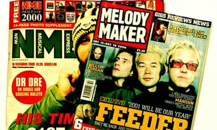 NME and Melody Maker, 14/12/2000