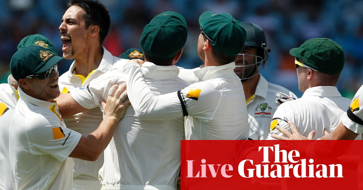 South Africa V Australia Day Three As It Happened Sport The