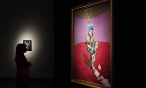 Portrait of George Dyer Talking' Francis Bacon