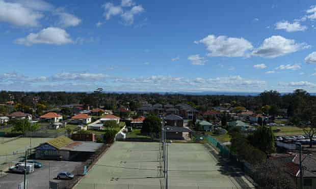 The western Sydney suburb of Blacktown.