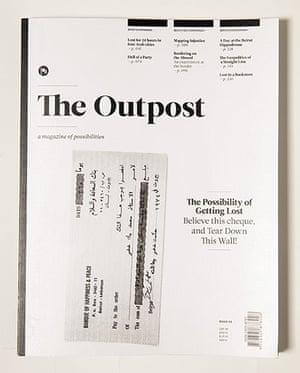 Magazine design: Magazine design The Outpost magazine