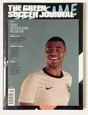 Magazine design: Magazine design The Green Soccer Journal