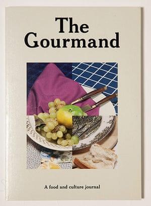 Magazine design: Magazine design The Gourmand magazine