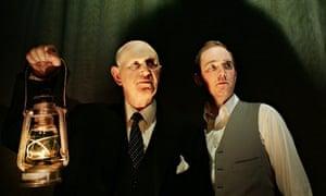 Ken Drury and Adam Best in The Woman in Black