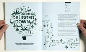 Magazine design: Magazine design The Outpost