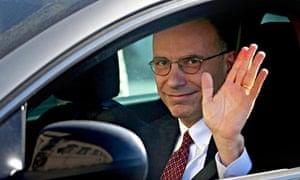 Enrico Letta resignation