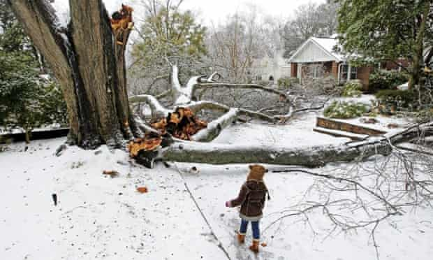 South Carolina winter storm