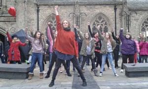 Durham marks One Billion Rising on 14 February 2014.