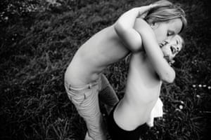 Carla Kogelman, a Dutch freelance photographer won the 1st Prize People - Observed Portraits Stories category of the 2014 World Press Photo contest with her series of pictures which includes this one of Hannah and Alena, two sisters living in the rural village of Merkenbrechts, Austria, taken July 19, 2012.
