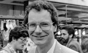 Chris Smith, on the campaign trail age 31 in the 1980s.