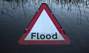 Flooding in Wargrave, Berkshire