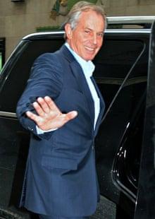 Tony Blair in New York