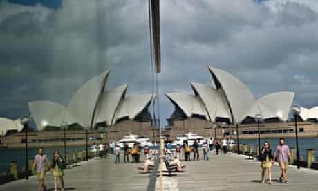 Cities: Sydney 1, glass