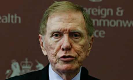 Michael Kirby is chair of the United Nations commission of inquiry on human rights in North Korea