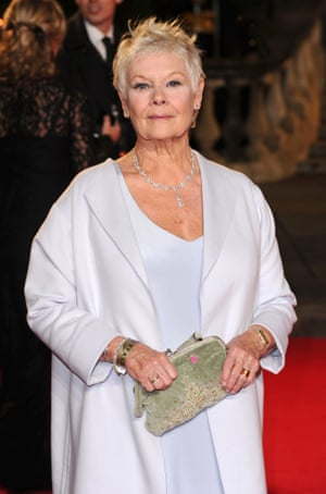 """""""Helen Mirren or Judi Dench show how older women can still be active physically and mentally and be interesting and glamorous and have opinions and be generally active in society and of value."""""""