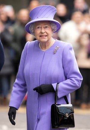 """""""The Queen - I am not really big on royalty but she does show that older people can still be actively engaged in society."""""""
