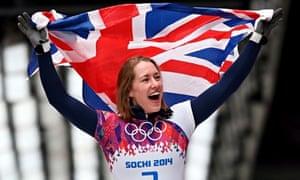 Lizzy Yarnold wins gold at Sochi