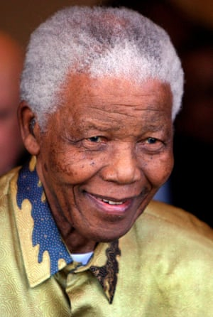 """""""Nelson Mandela showed that you are never to old to add to the wealth of nations."""""""