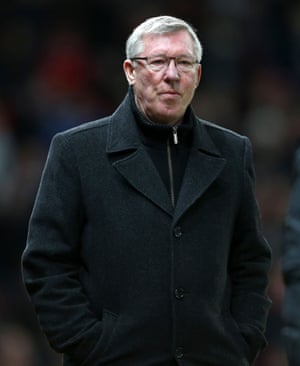 """""""Sir Alex Ferguson with a public profile successfully holding a high pressure job in his 70s."""""""