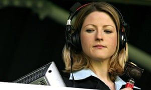 Jacqui Oatley is the first female commentator on BBC's Match of the Day