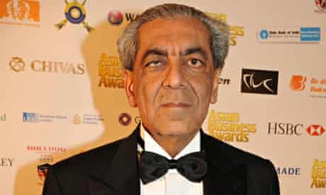 Sudhir Choudhrie, pictured at the 2013 Asian Business Awards
