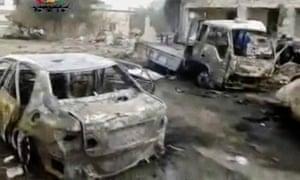 Yadouda, Syria, car bomb