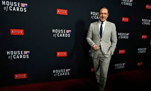House of Cards star Kevin Spacey at the premiere for the second season