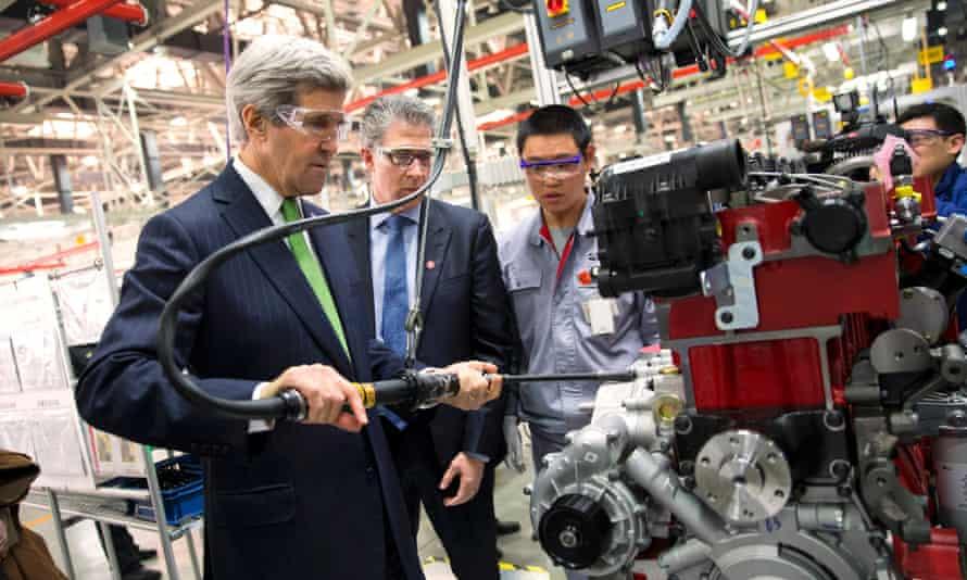 John Kerry china