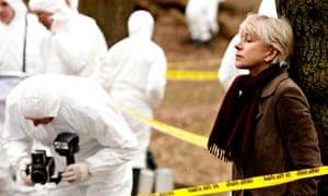 Helen Mirren as Jane Tennison in Prime Suspect