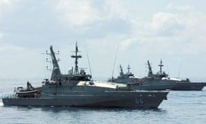 australian navy asylum