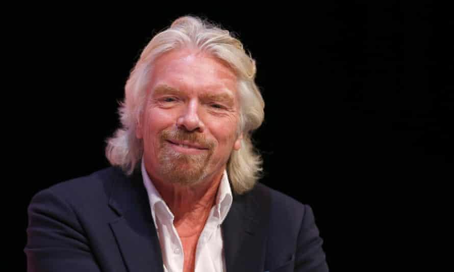 Virgin Group founder Sir Richard Branson
